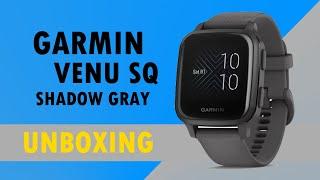 Garmin Venu Sq Shadow Gray Unboxing HD (010-02427-10)