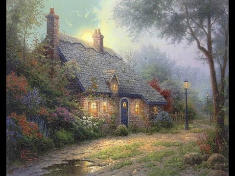Moonlight Cottage Thomas Kinkade Studios