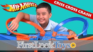 Criss Cross Crash by Hot Wheels Unboxing