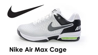 Nike Air Max Cage Men's Tennis Shoes video