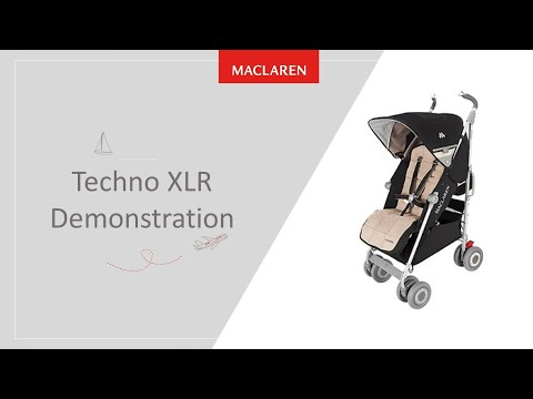 Maclaren Techno XLR Travel System