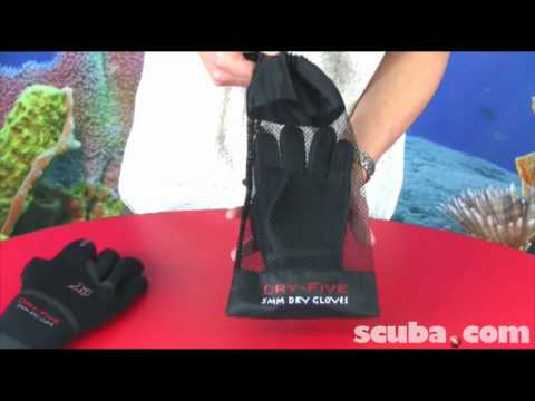 XS Scuba Dry 5 Gloves Video Review