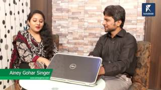 Ainey Gohar Launching her official website with Kamran Hayat | Kamariiadd