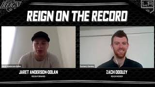[ONT] Reign on the Record: Jaret Anderson-Dolan