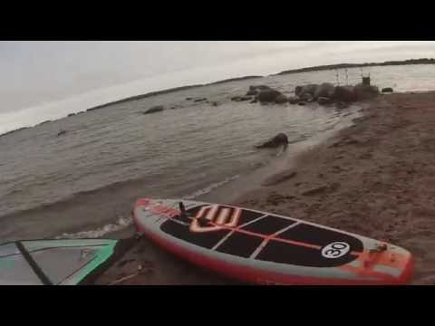 Safe Corsair  inflatable SUP  with sail :)