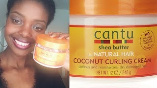 Review -  Rossmann Produkt / Cantu Shea Butter For Natural Hair // Coconut Curling Cream