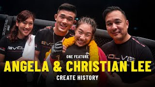 Angela And Christian Lee Create History | ONE Feature