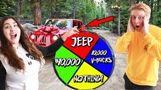 SPIN THE MYSTERY WHEEL FOR YOUR BIRTHDAY PRESENTS FOR THE WHOLE DAY!