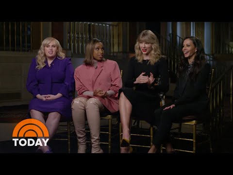 Cats' Cast FULL Interview With TODAY's Hoda Kotb | TODAY (видео)