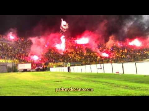 """""""Recibimiento - Clásico Copa Antel - Hinchada Peñarol"""" Barra: Barra Amsterdam • Club: Peñarol"""