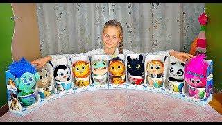 Маленькие герои ищут друзей. ВСЯ КОЛЛЕКЦИЯ игрушек  DreamWorks из Магнита. Игрушки в кружке.