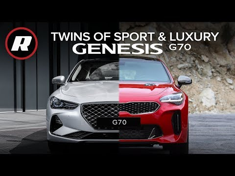 2019 Genesis G70 Sport: A spicer take on one of our favorites -- the Kia Stinger