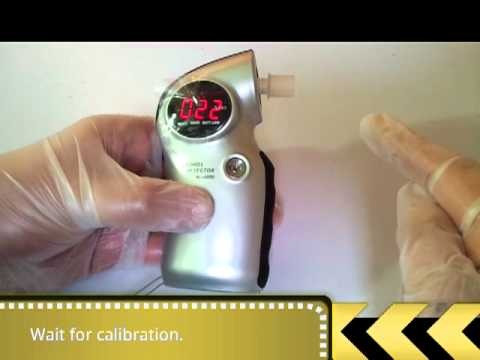 How to use an AL6000 breath alcohol unit