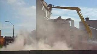 preview picture of video 'Binghamton, NY - Greyhound Bus Terminal Construction'