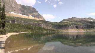 Trip video of Hidden Lake all the way to its shores.