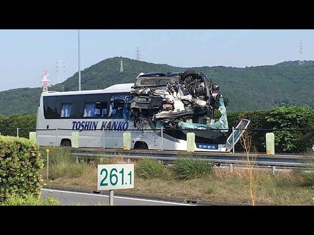 حادث سير مروع في اليابان