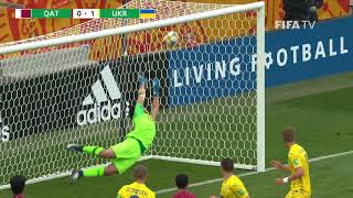MATCH HIGHLIGHTS - Qatar v Ukraine - FIFA U-20 World Cup Poland 2019