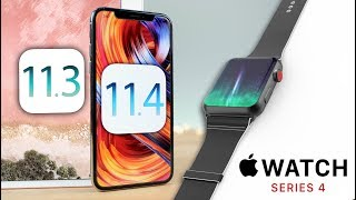 iOS 11.3 Released on iPad 6, iOS 11.4 Confirmed & Apple Watch 4 Leaks!