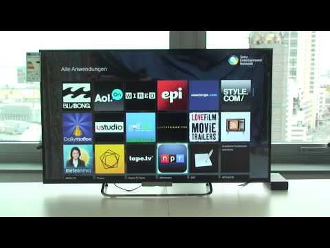 SONY KDL-42W655 LED Fernseher Hands On Test - Deutsch / German ►► notebooksbilliger.de