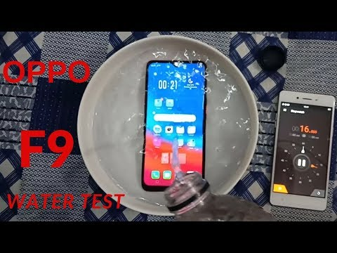 oppo F9 water test || F9 water test || Actually Waterproof??