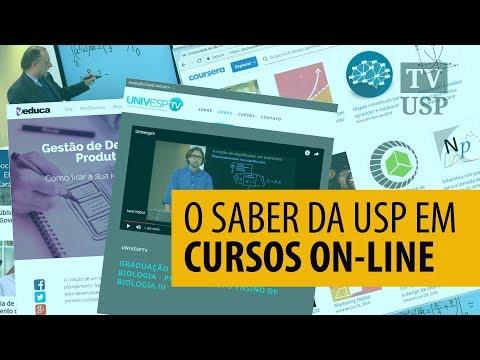 O saber da USP em cursos on-line