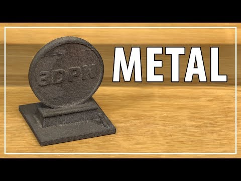 3D Printing Metal with the Iro3D Desktop Metal 3D Printer - Solid High Carbon Steel Parts!