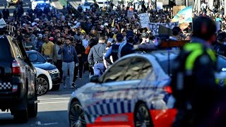 Anti-lockdown protests grip Australia, clashes erupt in Sydney • FRANCE 24 English