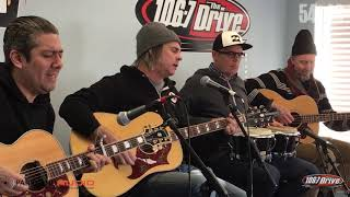 """LIVE AT THE DRIVE: 54-40 """"I Go Blind"""""""