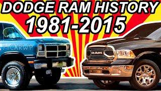 HISTÓRIA Dodge Ram 1981-2015 - dooclip.me