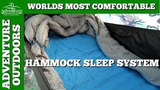 Worlds Most Comfortable Hammock Sleep System