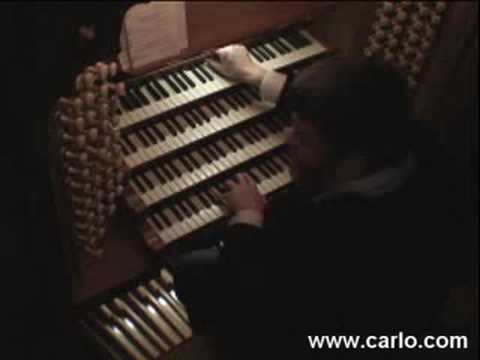 Carlo Curley at Chester Cathedral, England, Part 4/5