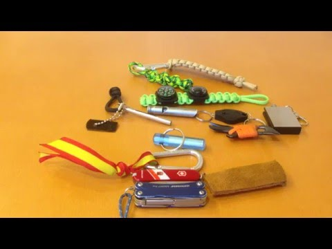 10 Gadgets para un llavero de supervivencia