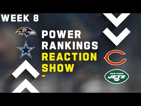 Week 8 Power Rankings Reaction Show