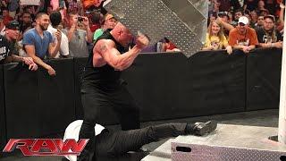 WWE World Heavyweight Championship Contract Signing for WWE Battleground: Raw, July 13, 2015