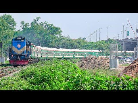 Most Longest Route Train of Bangladesh Railway || Inter-city Ekota Express || Panchagarh to Dhaka