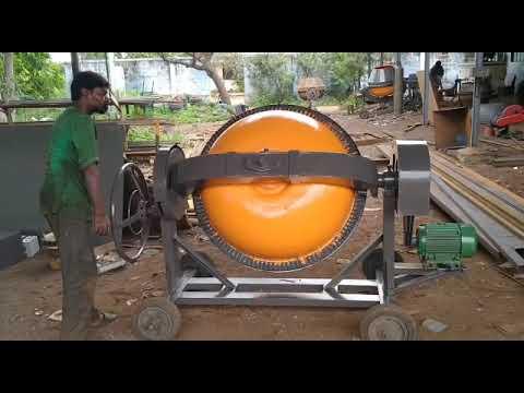 Drum Concrete Mixing Machine