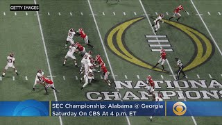 SEC Championship Preview: Can Georgia Knock Off Alabama This Time Around?