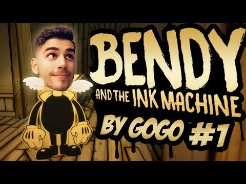 Najkrajšie animovaná horrorovka? | Bendy And The Ink Machine | #1