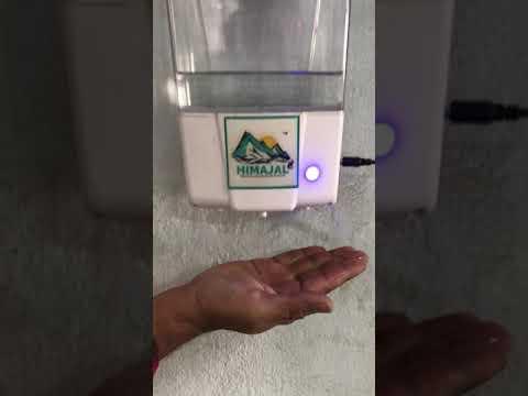 Himajal Automatic 1.8 Litre Hand Sanitizer Dispenser