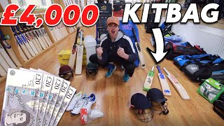 Whats In Kierans £4000 Cricket Kitbag For 2020 | Are £600 Bats Actually Worth It?