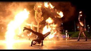 Feuershow S.W.A.P. Furious SPARKLING Flames