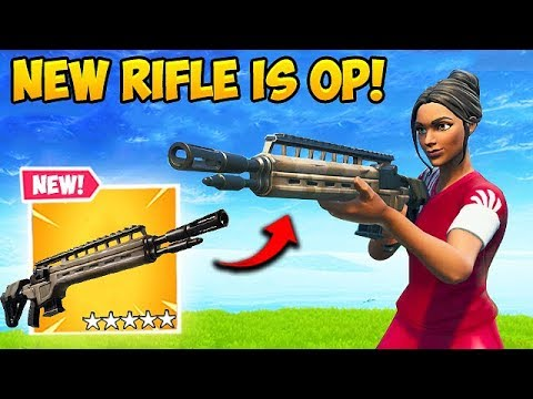 *NEW* LEGENDARY INFANTRY RIFLE IS OP! - Fortnite Funny Fails and WTF Moments! #530
