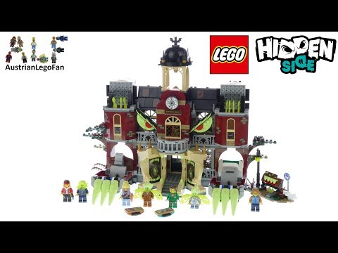 Vidéo LEGO Hidden Side 70425 : L'école hantée de Newbury