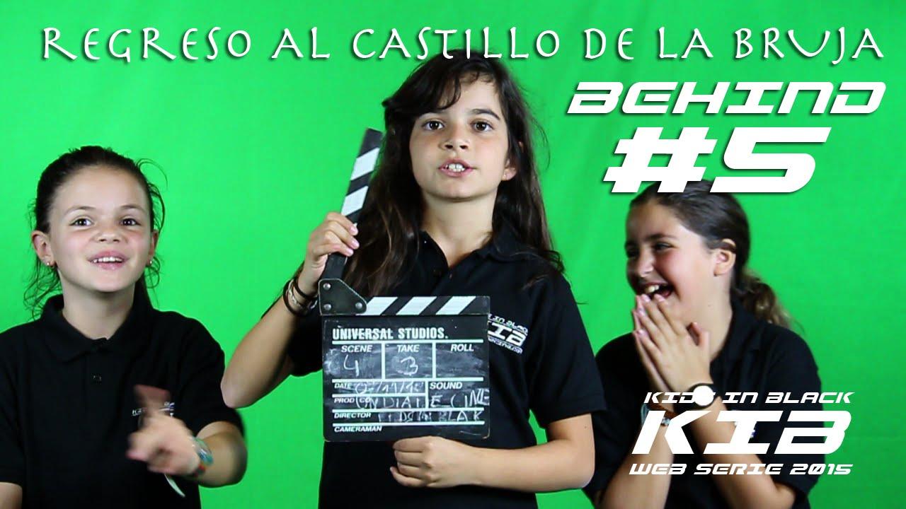 Regreso al Castillo de la Bruja -  Kids In Black 2015 - Detrás de las cámaras #5