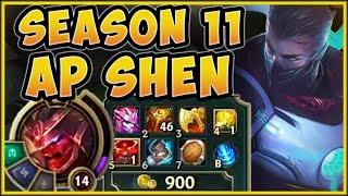 RIOT WANTS SHEN BUILDING AP IN SEASON 11!? THESE NEW ITEMS MAKE SHEN INSANE! - League of Legends