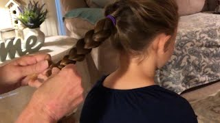 ASMR Pony Tail Braids Hair Play