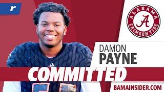 Damon Payne Commits To Alabama