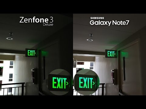 Zenfone 3 Deluxe vs Galaxy Note 7 Comparison + Camera Review