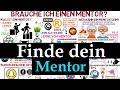 Mentor finden - Warum brauche ich einen Mentor ? ?Mentoring deutsch
