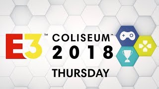 E3 Coliseum 2018 Thursday:  Cuphead, Assassin